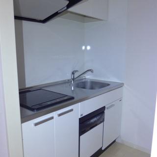 キッチンにはなんと食洗機!コンパクトですがこれは嬉しい!