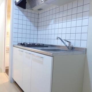 システムキッチン!2口ガスコンロです。