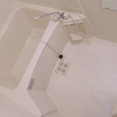 お風呂も十分な広さです。