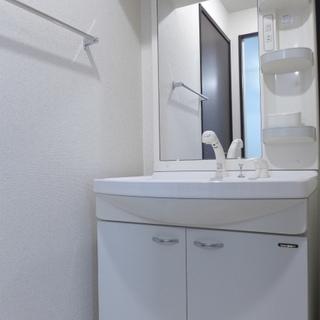 洗面台も清潔感ばっちり!