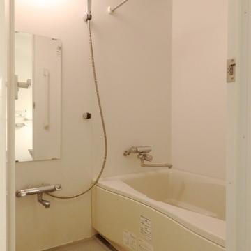 浴室乾燥が付いています。