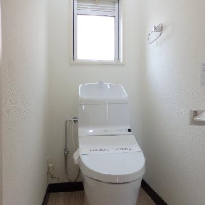 トイレは新品!