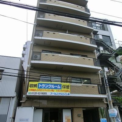 1階にはコミュニティカフェが入るマンション