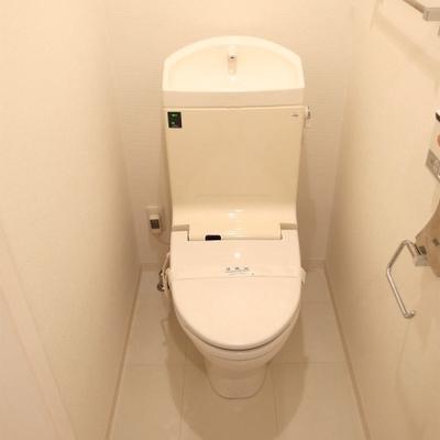 トイレもキレイに