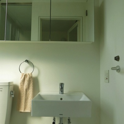 洗面台がオシャレ!(写真は3階です)