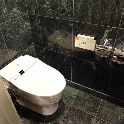 トイレもかなり綺麗