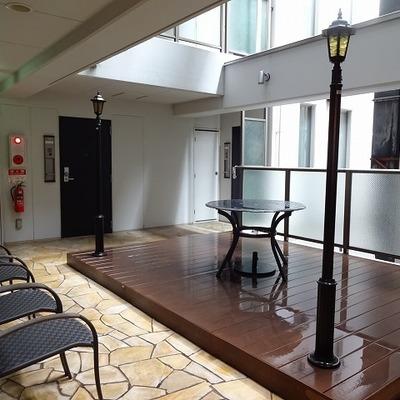 2階の共有スペース