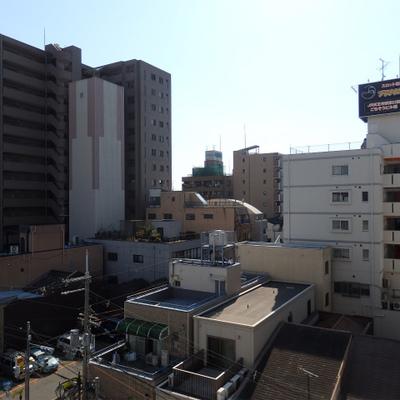 風景も抜けています。6階の景色
