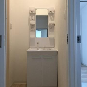 洗面台もシステム~