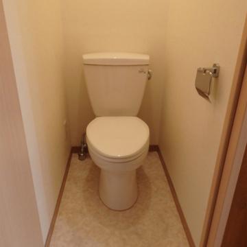 トイレシンプル。