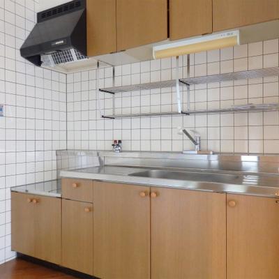 キッチンは築年数相当