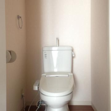 トイレも新品とまではいかないまでもきれいです。