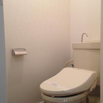 トイレもピカピカ。キレイが一番!