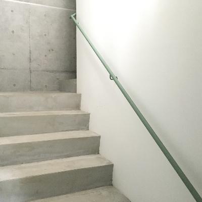 共用部もコンクリートのデザイン