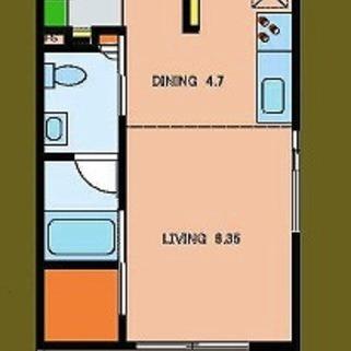 2号室は反転タイプです!