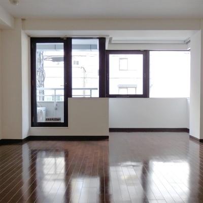 お部屋は13帖の広さ。