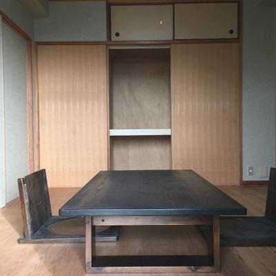 和室もあります。収納もたっぷり。