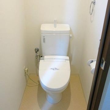 トイレも綺麗!