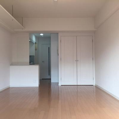 シンプルなお部屋のデザイン。