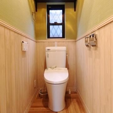 ついつい長居してしまいそうなトイレ。