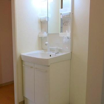 洗面台は普通ですね!