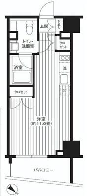 東京タワーに見とれて の間取り