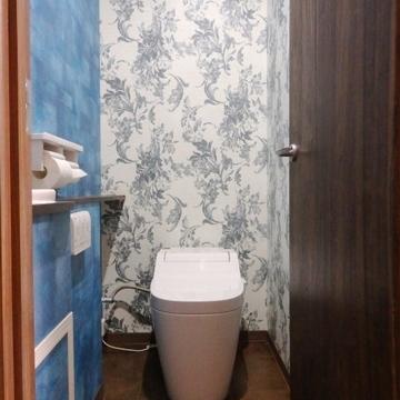タンクレスのトイレ。