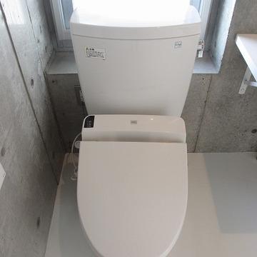 トイレにも窓が。