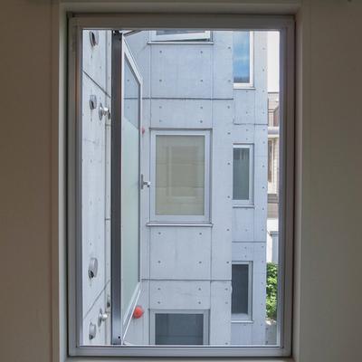 窓を開けると、正面は・・・。