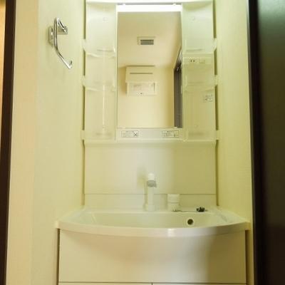 洗面台はおおきめ※写真は同タイプの別部屋。