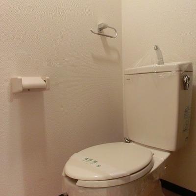 トイレはシンプルにキレイ