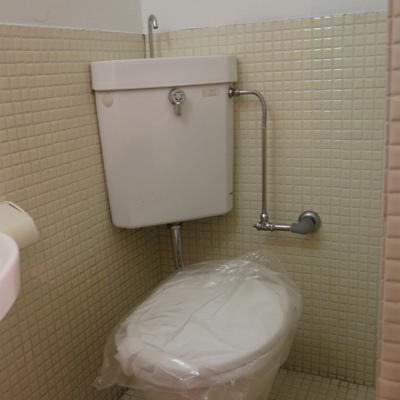 トイレはきれいになっています。
