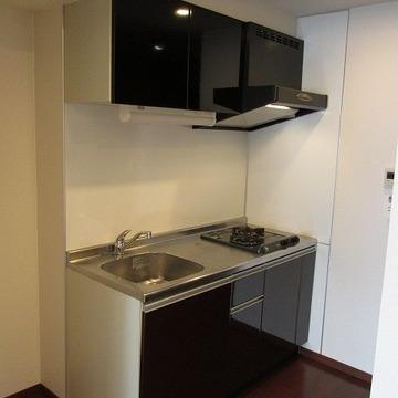 キッチンもガス2口でしっかりお料理できます!