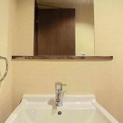 洗面台も使いやすそうですね。