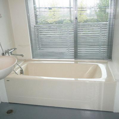お風呂とトイレは広めのユニットです。