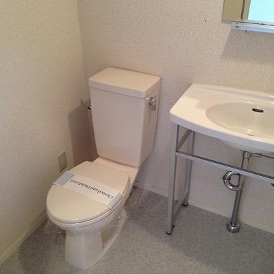 洗面所にトイレがあります※別部屋