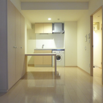 キッチンのカウンターがgood!※写真は別部屋になります。
