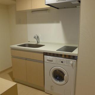洗濯乾燥機付き!嬉しい!※写真は別部屋になります。