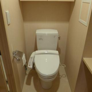 トイレにはウォシュレット付き。これまた嬉しい!※写真は別部屋になります。