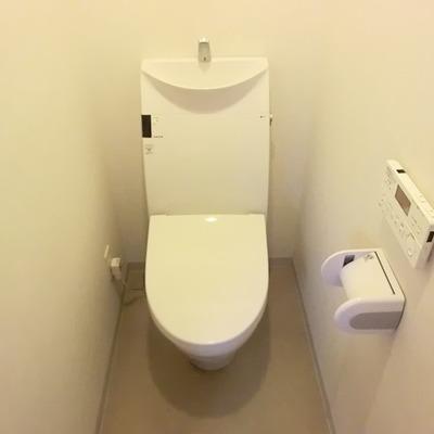 トイレもスタイリッシュ。