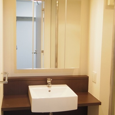 ホテルのような洗面台。美しい。※画像は別部屋