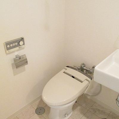 トイレがシンプルな感じです。