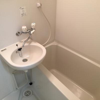 お風呂にも洗面台が