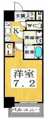 大阪・西半分の空(上) の間取り