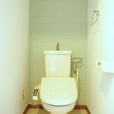 トイレにはウォシュレット付いています