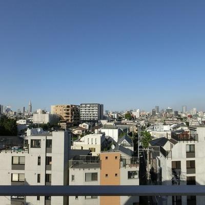 6階の眺めも独り占めできちゃいます