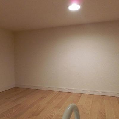 ロフトは収納スペースに活用を。※画像は同じ間取りの別部屋です