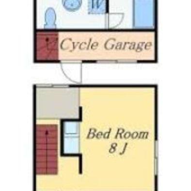 お部屋はコンパクト