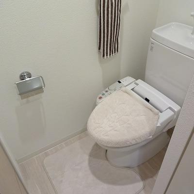 トイレもとっても綺麗