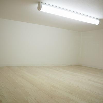 天井は低いです。冬はここでも寝れそう。